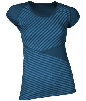 bristow Mykonos womens merino wool running shirt_front