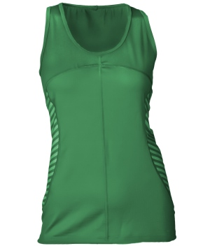 Canby Emerald Womens Merino Wool Tank_Front