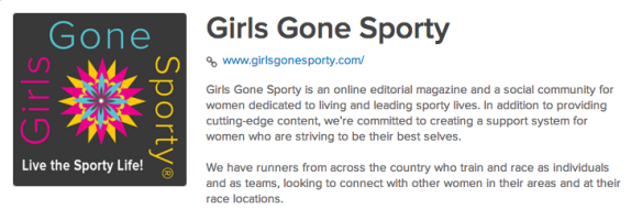Girls Gone Sporty
