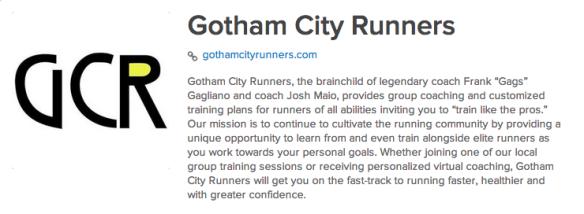 Gotham City Runners