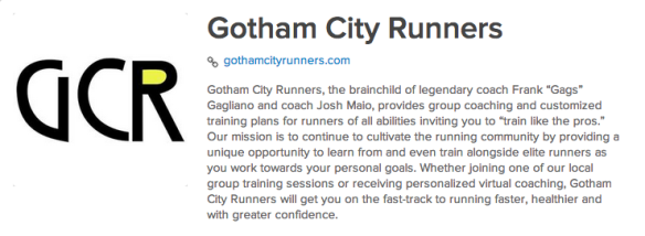 Gotham City Runners