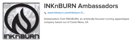 INKnBURN Ambassadors