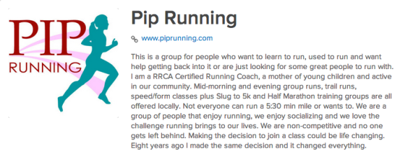 PIP Running