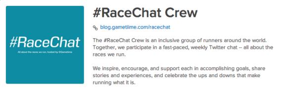 #RaceChat Crew