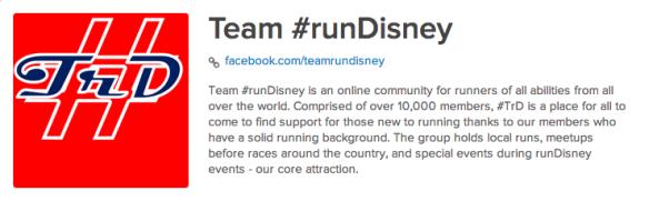 Team #runDisney